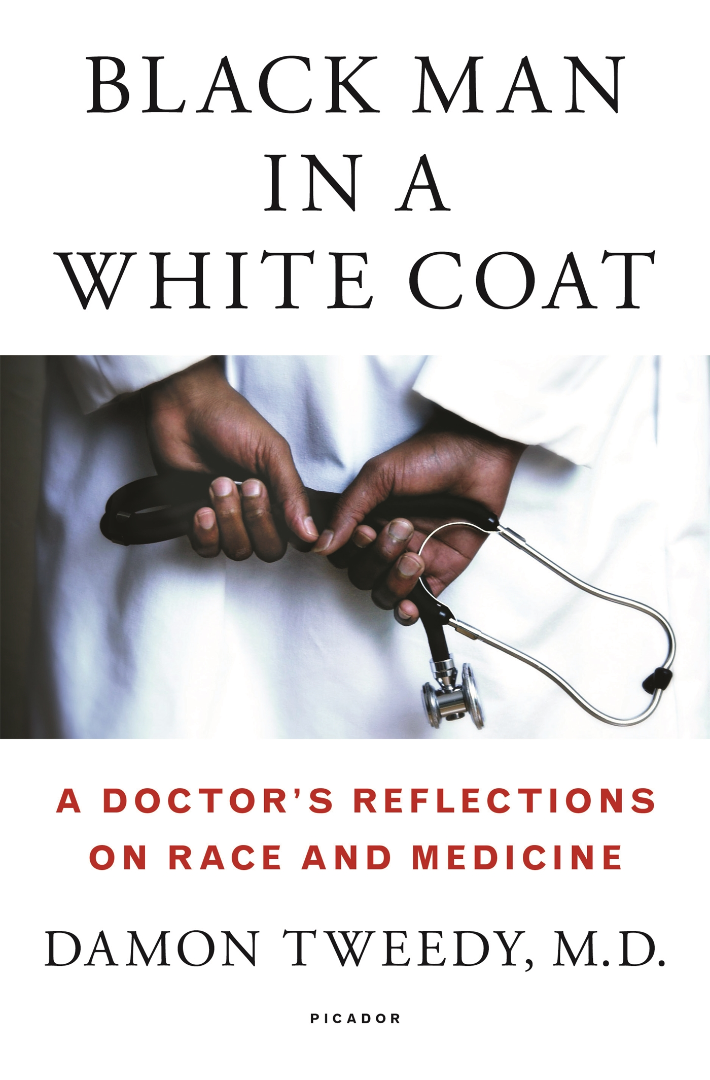 Black Man in a White Coat cover